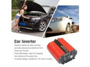 1000W Car Inverter DC12V To AC110V Power Inverter Dual USB Ports High Conversion Aluminum Alloy Housing Transformer red 9SIA9086KP0669