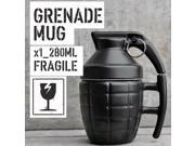 Great Value Unique Simulation Grenade Shape Coffee Mug Cup Practical Water Cup With Lid Interesting Funny Gifts black 9SIA9086KN8871