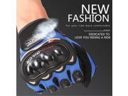 PRO BIKER Motor Gloves Full Finger Protection Outdoor Warm Riding Gloves Motorbike Motocross Racing Gears Windproof Gloves black&blue 9SIAFS976S3904