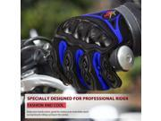 PRO BIKER Motorcycle Gloves Outdoor Sports Full Finger Knight Riding Gloves Breathable Unisex Motocross Off-Road Racing Gloves black&blue 9SIA9086KN9125