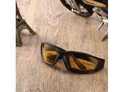 Motorcycle Glasses Windproof Dustproof Eye Glasses Goggles Outdoor Glasses yellow 9SIAFS976S5992