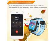 Kids Wristwatch Touch Screen  Anti-Lost Smartwatch Great Gift For Children blue