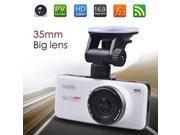 Anytek AT66 Full HD 1080P Novatek 96650 Car DVR Recorder with 2.7 Inch Screen G-sensor 170 Degree Wide Angle 6G Lens and Seamless