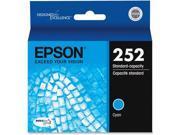 EPSON AMERICA T252220 T252 DuraBrite Ultra Cyan Ink