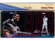 Elvis Presley 68 Comeback Special License Plate
