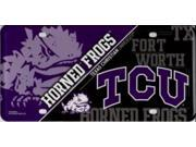 TCU Texas Christian University Horned Frogs Metal License Plate 9SIA5VG4626111