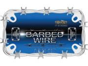 Image of Barbed Wire Motorcycle License Plate Frame