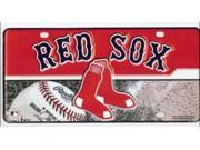 Boston Red Sox Metal License Plate 9SIA5VG2FK5569