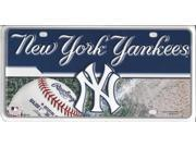 New York Yankees Metal License Plate 9SIA5VG2FK5556