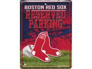Boston Red Sox Metal Parking Sign 9SIA5VG2FK6366