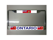 Ontario Canada License Plate Frame Free Screw Caps Included