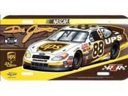 Dale Jarrett #88 NASCAR Plastic License Plate 9SIA5VG2FK6197