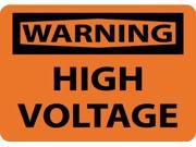 NMC W49P-WARNING, HIGH VOLTAGE, 7X10, PS VINYL (1 EACH) 9SIA91M3MX7371