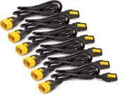 Apc By Schneider Electric Power Cord Kit 6 Ea Locking C13 To C14 1.2m North America