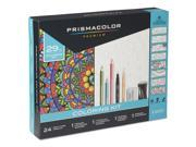 Prismacolor 1978739 Complete Toolkit With Colored Pencils And 8 Page Coloring Book