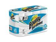 Bounty 84890 Duratowel Paper Towels, 2-Ply, 9 X 11, 53/Roll, 8 Roll/Pack