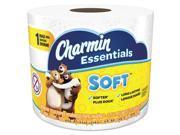 Charmin 97184 Essentials Soft Bathroom Tissue, 2-Ply, 4 X 3.92, 275/Roll, 36 Roll/Carton