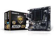Gigabyte Motherboard GA-N3150N-D2H Quad-Core Celeron N3150 DDR3 PCI-E SATA Mini-ITX Retail