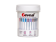 Reveal 12 Panel Cup W/ Adulterants - Clia Waived (Ea) Drug Test - THC/COC/OPI-300/MET/BZO/AMP/BAR/ MTD/MDMA/PCP/TCA/OXY 9SIA9273D96284