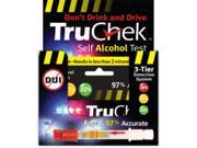 TruChek Self Alcohol Test 4 Single Units