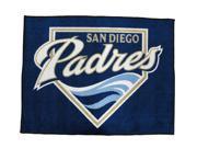 Licensed San Diego Padres 34 Inch By 45 Inch Floor Rug