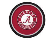 "Club Pack of 96 NCAA University of Alabama Crimson Tide Paper Party Dinner Plates 9"""""" 9SIA09A48H2749"