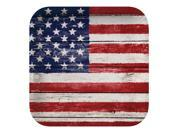"Club Pack of 96 Stars and Stripes American Weathered Flag Square Disposable Dinner Paper Party Plates 9"""""" 9SIA09A43Y3586"