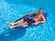 "65"""" Blue and Aqua Mesh Swimming Pool Spring Float Recliner XL"" 9SIA09A5HC5726"