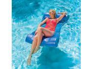 "46"""" Bright Blue Aquaria Aqua Hammock Swimming Pool Water Lounger"" 9SIA09A5HR0944"