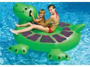 "75"""" Water Sports Inflatable Swimming Pool Giant Sea Turtle Ride-On Raft"" 9SIA09A2CP4736"