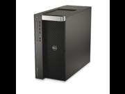 Dell Precision T5610 Workstation 2x E5-2643 Quad Core 3.3Ghz 128GB 256GB SSD 2TB Q600 Win 10 Pre-Install