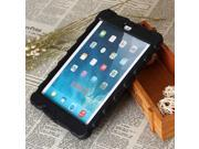 Tire Pattern Drop Resistance Dustproof Protective Case for Ipad Mini with Holder Black
