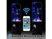 LED Dancing Water Wireless Bluetooth Stereo Speaker iPhone iPad Computer Laptop