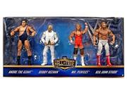 WWE Hall of Fame Exclusive 4-Pack Set / Heenan Family / Andre The Giant, Bobby, Mr Perfect, Big John Studd by Mattel 9SIA93A6B06493