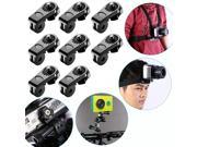Neewer® Universal Conversion Adapter (1/4 Inch 20) Mini Tripod Screw Mount Fixing Gopro Accessories to Sport Camera, Sony Olympus and Other Action Cameras(8 Pac 9SIV0Z15DD2183