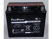 (1) FirstPower YTX20L-BS For Bombardier Ski-Doo 550 GSX, GTX, MX Z 2007-2012