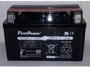 (1) FirstPower YTX7A-BS for Sym Cinderella 50 (2007-2008)