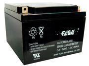 Casil CA12260 12v 26ah for Johnson Controls GC12250