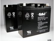 (2) Casil12V 18AH Nut & Bolt for Universal UB12180