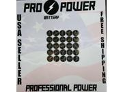 (100) Pro Power replacement for Energizer CR1216 3V Lithium Coin Batteries