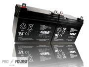 (2) Casil 12v 35ah for Power Wheelchair Battery Replaces 40ah Tempest TR40