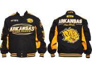 Arkansas at Pine Bluff Golden Lions S10 Mens Twill Jacket [Black - 2XL] 9SIA95B5Y08252