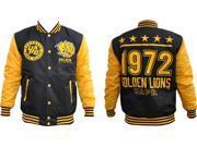 Arkansas at Pine Bluff Golden Lions Light Weight Mens Jacket [Black - XL] 9SIA95B5Y08832