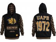 Arkansas at Pine Bluff Golden Lions S2 Pullover Mens Hoodie [Black - 2XL] 9SIA95B5Y09997