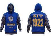 Sigma Gamma Rho Divine 9 S2 Pullover Ladies Hoodie [Royal Blue - S] 9SIA95B5Y08392