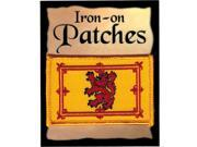 """Scotland Lion Rampant Royal Flag Iron-On Patch [Pack of 2 - Yellow Gold/Red - 2.25"""""""" x 3.5""""""""]"""" 9SIA95B6K44951"""