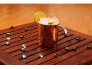 A29 Straight Moscow Mule 100% Solid Copper Mug / Cup,16 Ounce,Set of 1