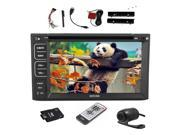 Free Camera+NEW Windows 8 In dash Double 2 DIN GPS Navigation Car Stereo Radio Bluetooth HD DVD CD MP3 Player Audio Video iPod