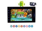 Pure Android 4.4 Capacitive Full-Touch Screen 2 din Car DVD CD Video Player GPS Navigation 7'' Car Stereo RDS Radio+Bluetooth+Camera