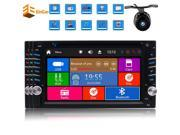 Double din Wince 8.0 Car DVD Player In dash 7inch Digital Touch Screen Head Unit with Autoradio Bluetooth FM AM RDS Digital Receiver Radio Stereo Support USB SD 9SIADY06WH7769